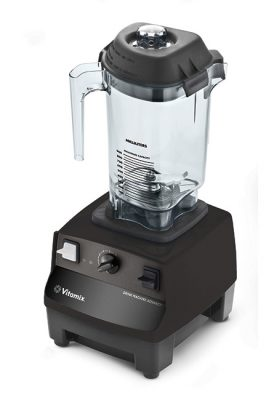 Vitamix Drink Machine Advance Zwart - links gedraaid